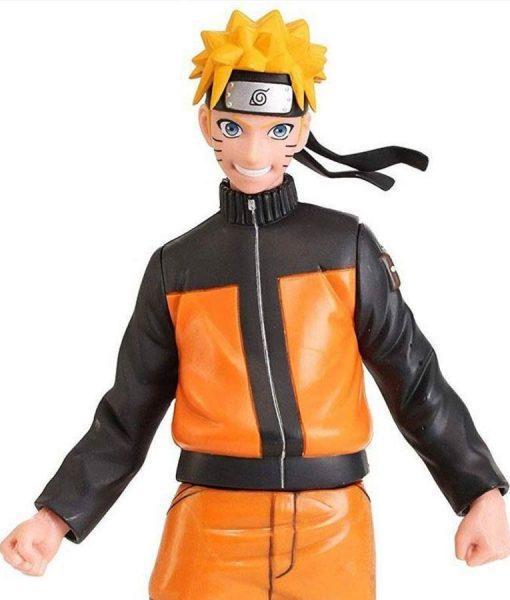 Naruto Shippuden Uzumaki Naruto Leather Jacket