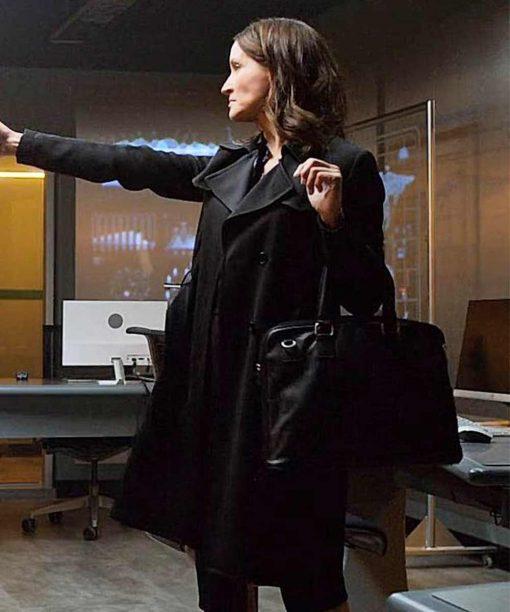 October Faction Michelle Nolden Black Coat
