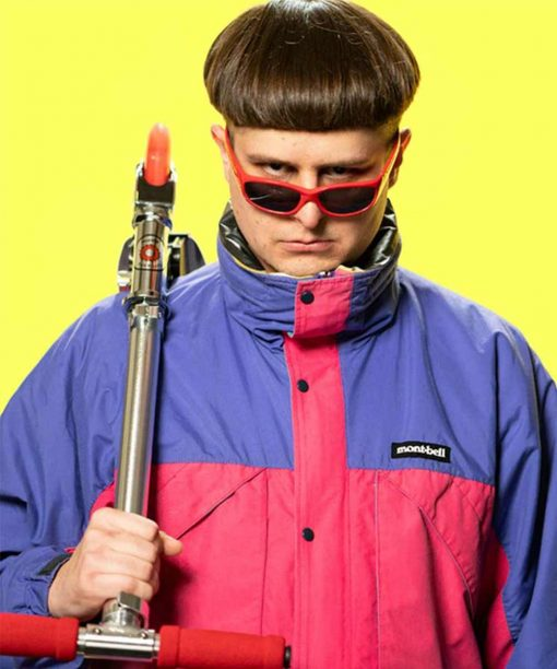 Alien Boy Oliver Tree Two-Tone Jacket