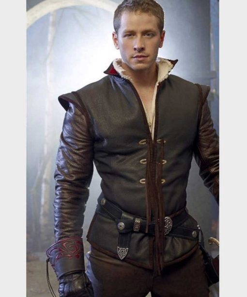 Once Upon a Time Josh Dallas Leather Jacket