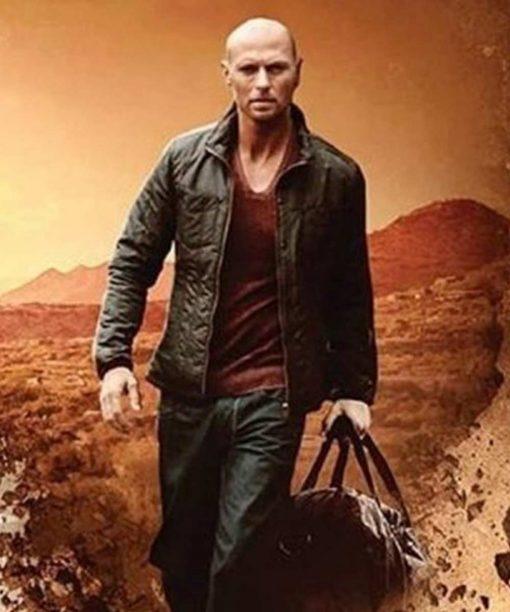 Luke Goss Paydirt Damien Brooks Leather Jacket
