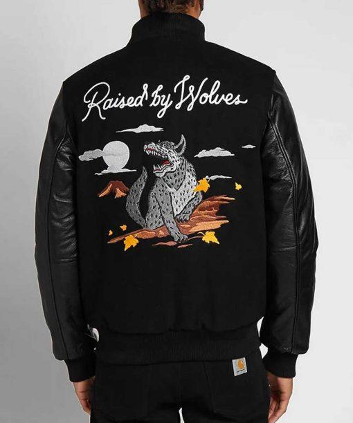 Souvenir Redux Black Varsity Jacket