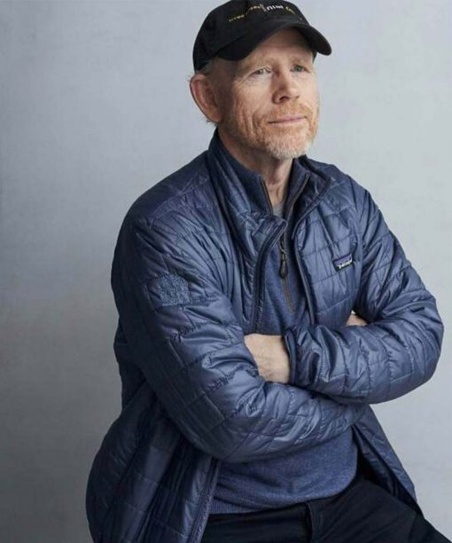 Rebuilding Paradise Director Ron Howard Blue Jacket