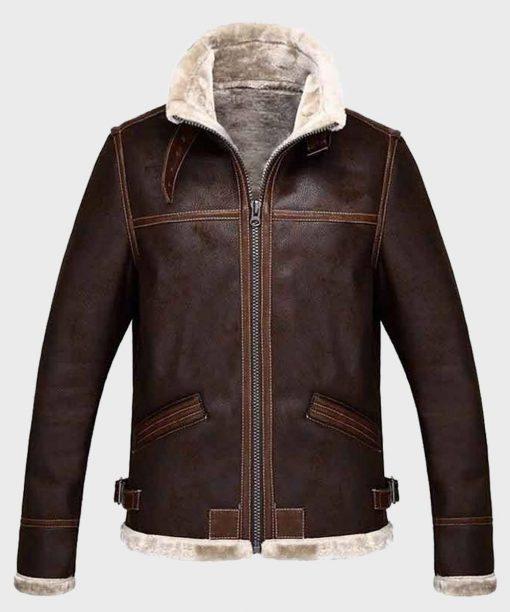 Resident Evil 4 Brown Leather Jacket