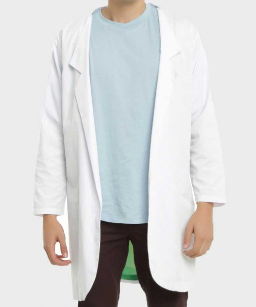 Rick And Morty Rick Sanchez White Lab Coat