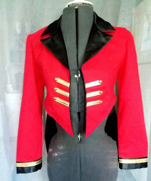 Ringmaster Red Tailcoat Jacket