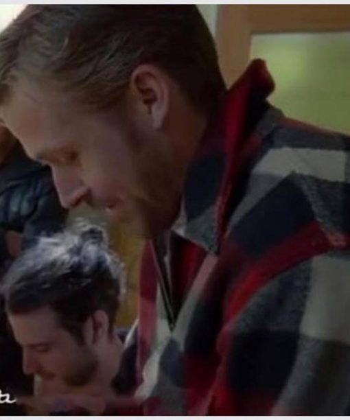Ryan Gosling Song To Song BV Plaid Jacket
