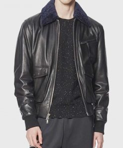 Starboy The Weeknd Black Leather Jacket