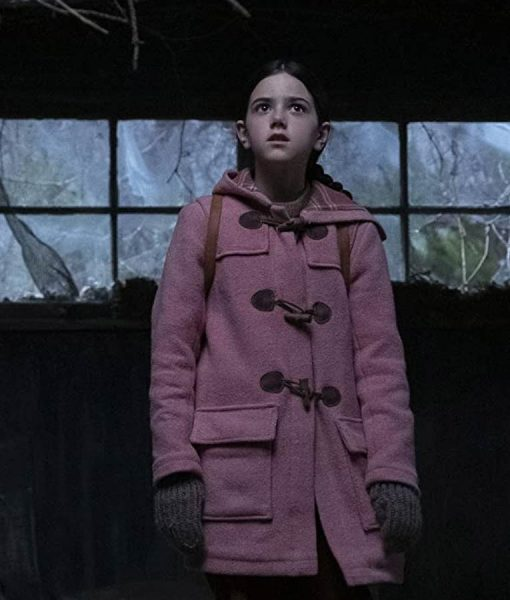 Tale From The Loop Abby Ryder Fortson Pink Coat