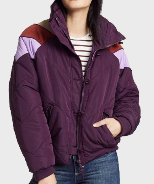 The Baby-Sitters Club Malia Baker Puffer Jacket