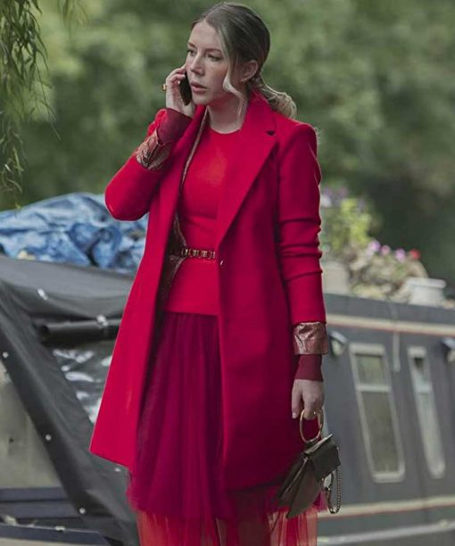 The Duchess Katherine Pink Coat