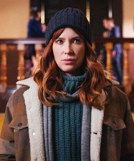 The Gloaming Emma Booth Shearling Jacket