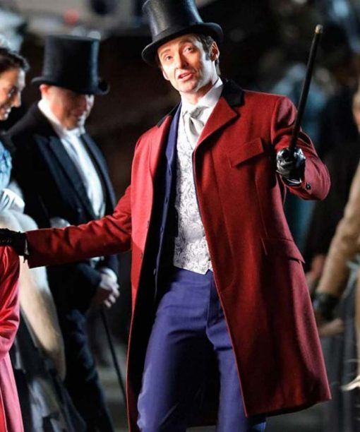 The Greatest Showman P.T. Barnum Trench Coat With Vest