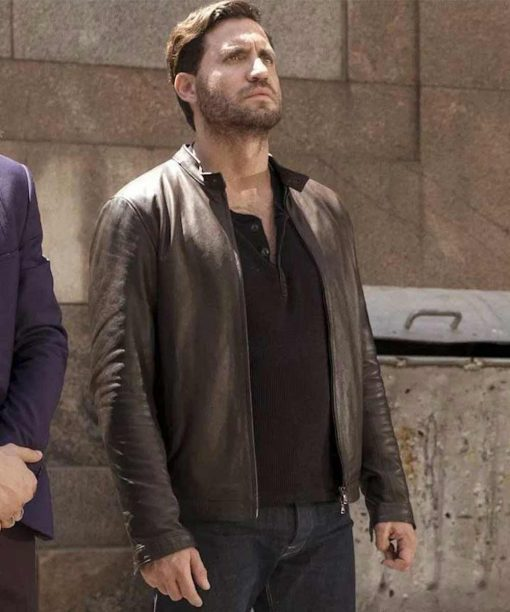 The Last Days of American Crime Graham Bricke Leather Jacket
