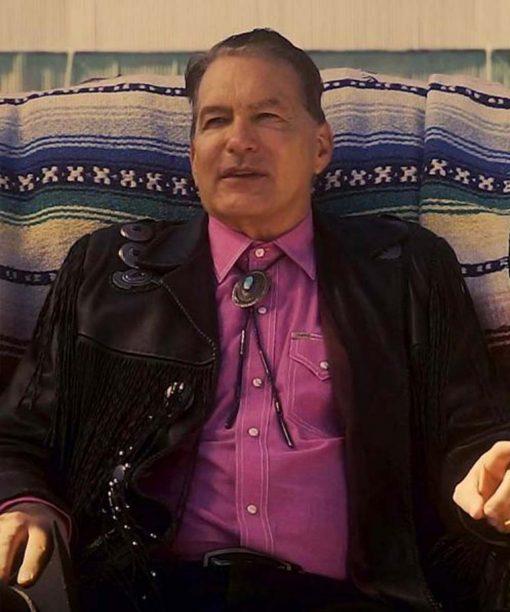 The Last Drive-In Joe Bob Briggs John Bloom Black Leather Jacket