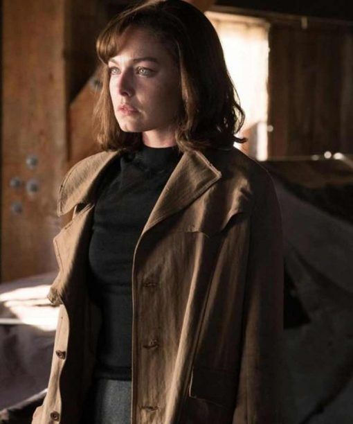 The Man In The High Castle Alexa Davalos Coat