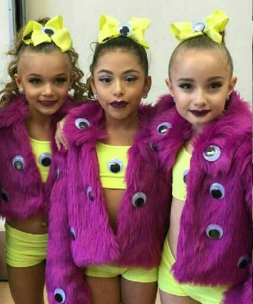 The Monsters Dance Moms Pink Fur Jacket