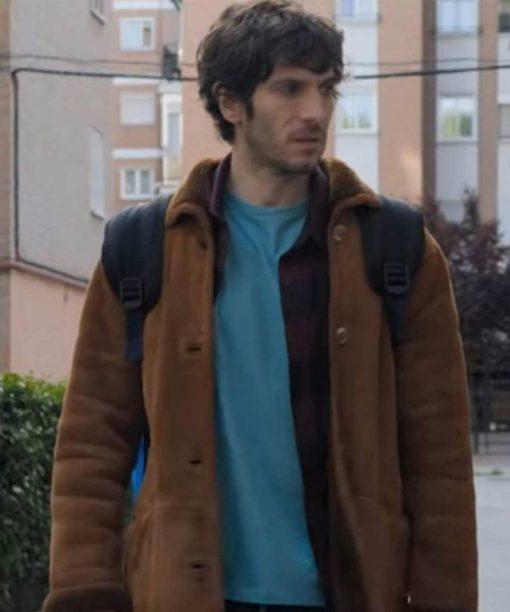The Neighbor Quim Gutiérrez Brown Coat