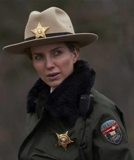 Sheriff Alice Gustafson The Silencing Annabelle Wallis Jacket