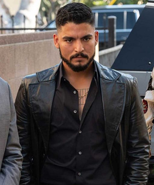 The Tex Collector Bobby Soto Black Leather Coat