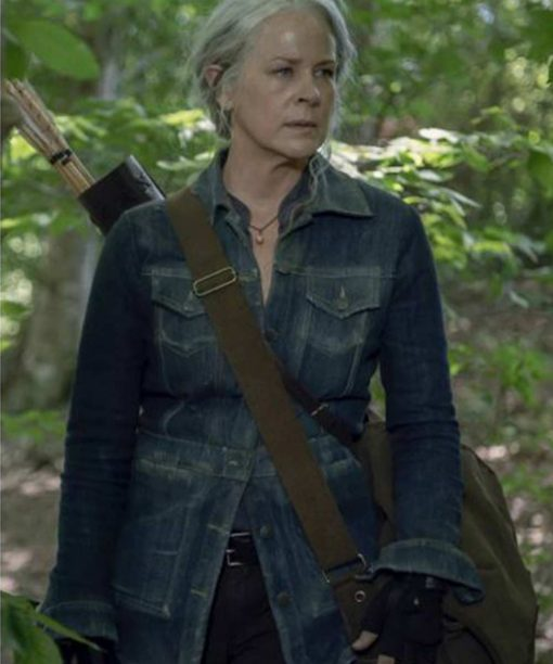 The Walking Dead S10 Melissa McBride Carol Denim Jacket
