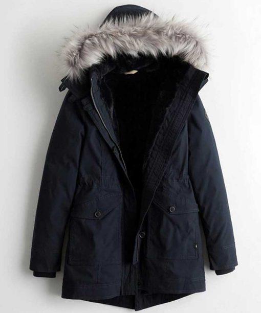 Trinkets Brianna Hildebrand Black Jacket