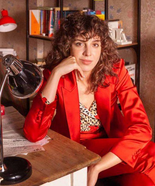 Valeria Silma López Red Coat