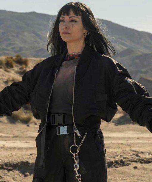 Vis a Vis El Najwa Nimri Bomber Jacket