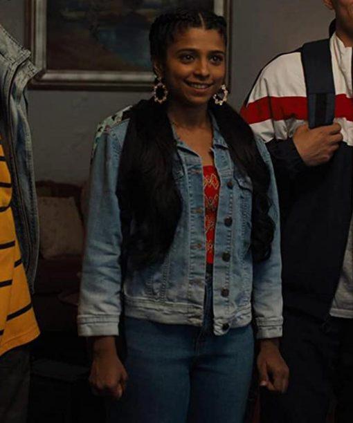 Indiana Mehta Work It Priya Singh Blue Denim Jacket