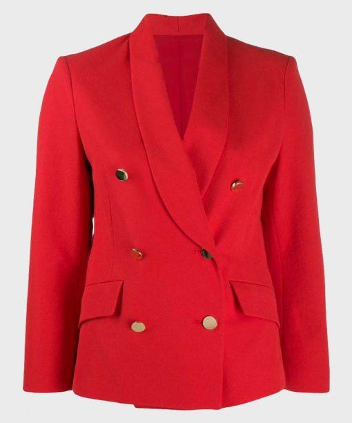 Wynonna Earp S04 Savannah Basley Red Blazer