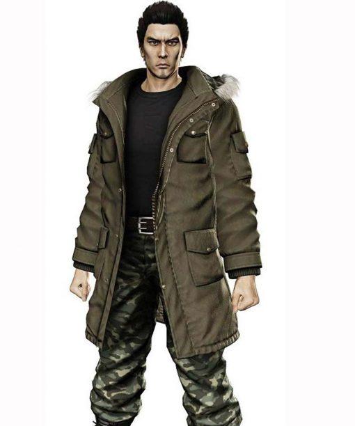 Video Game Yakuza 5 Taiga Saejima Parka Jacket