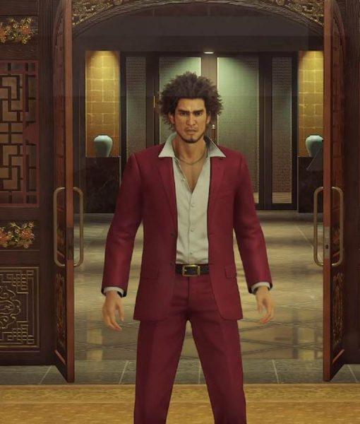 Yakuza Like a Dragon Ichiban Kasuga Maroon Blazer