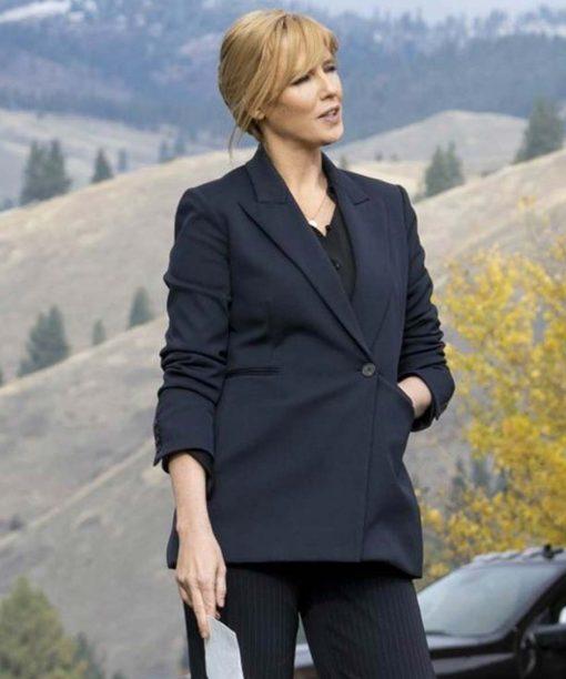 Yellowstone S03 Kelly Reilly Blazer