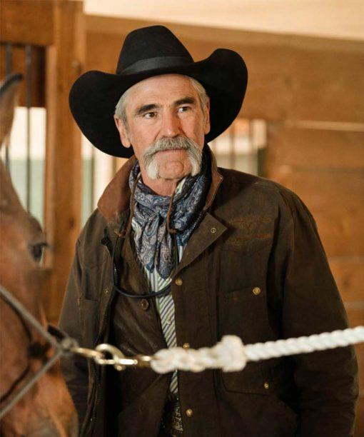 Yellowstone S03 Forrie J. Smith Lloyd Pierce Jacket