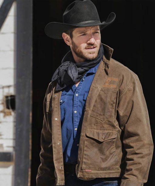 Yellowstone S03 Ryan Brown Jacket