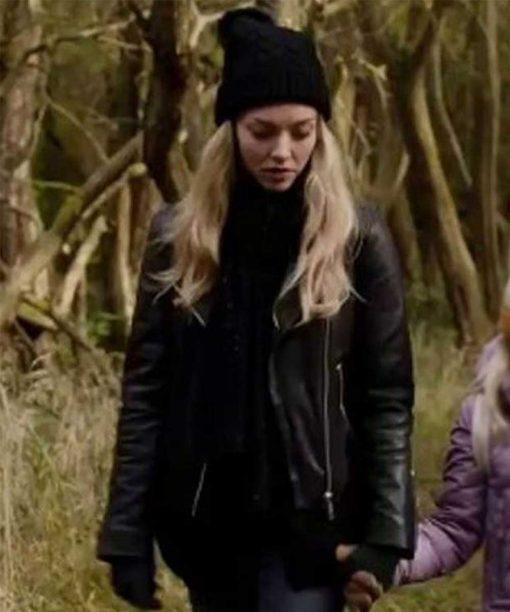 You Should Have Left Amanda Seyfried Leather Jacket