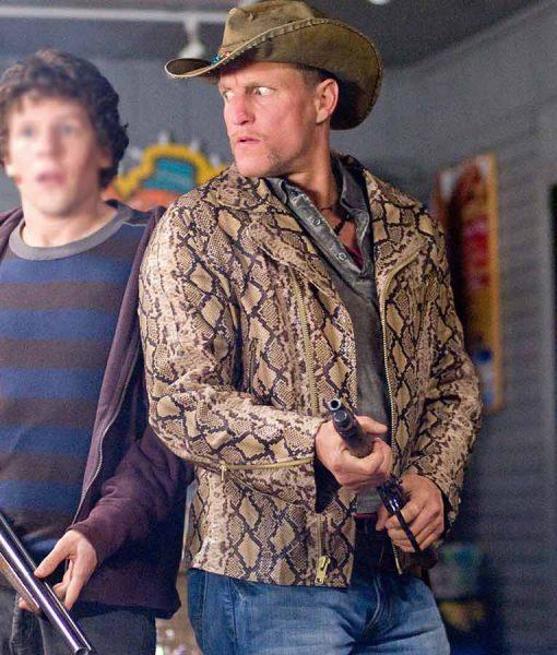 Tallahassee Zombieland Snakeskin Jacket