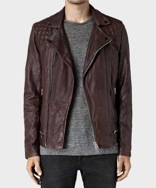 Agents of Shield Lance Hunter Leather Jacket