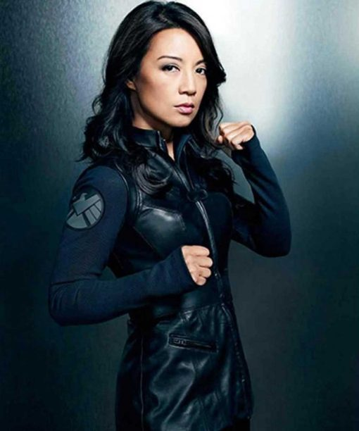 Agents of Shield Ming Na Wen Leather Vest