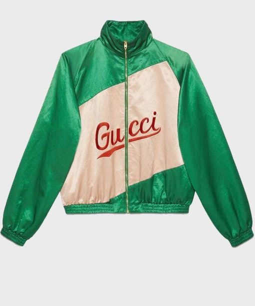 BTS Dynamite Jimins Gucci Embroided Bomber Jacket