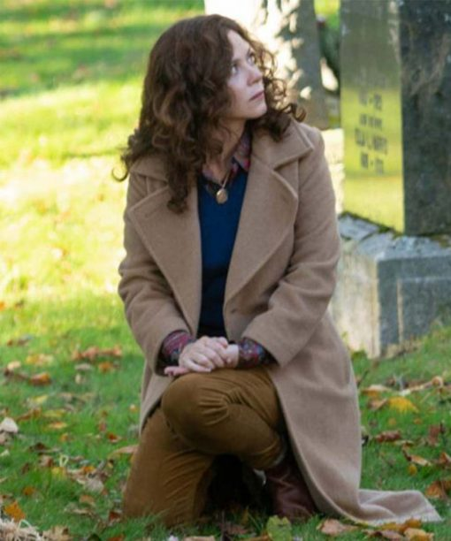 Books of Blood Anna Friel Wool-blend Trench Coat