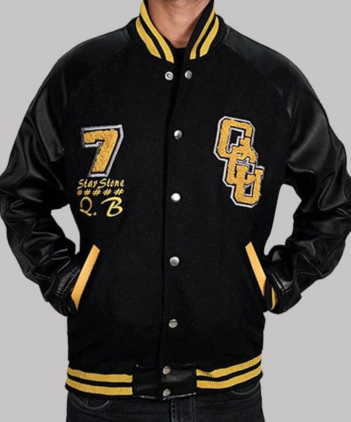 Ray Fisher Justice League Varsity Jacket