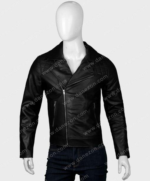 Supernatural Jensen Ackles Motorcycle Leather Jacket