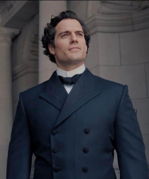 Enola Holmes Henry Cavill Coat