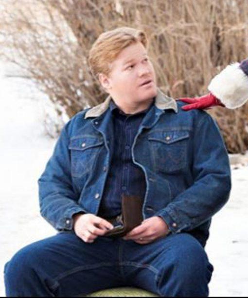 Jesse Plemons Fargo Blue Jacket