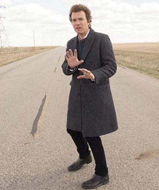 Emmit Stussy Fargo Grey Coat
