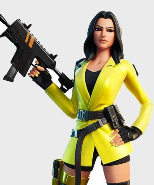 Fortnite Video Game Yellow Jacket