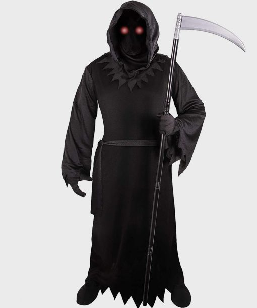 Grim Reaper Black Coat