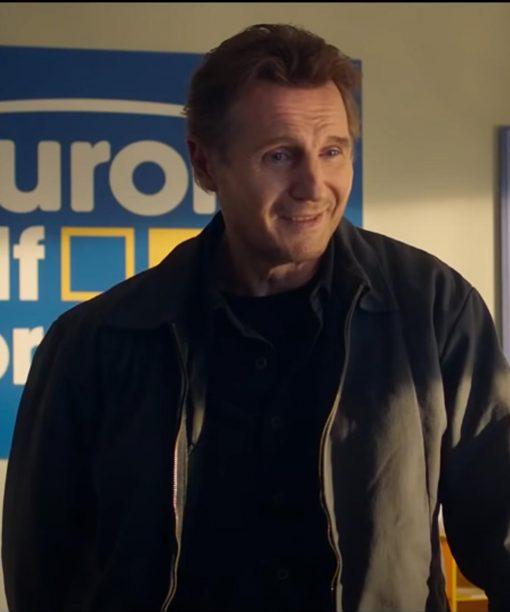 Honest Thief Liam Neeson Tom Black Jacket