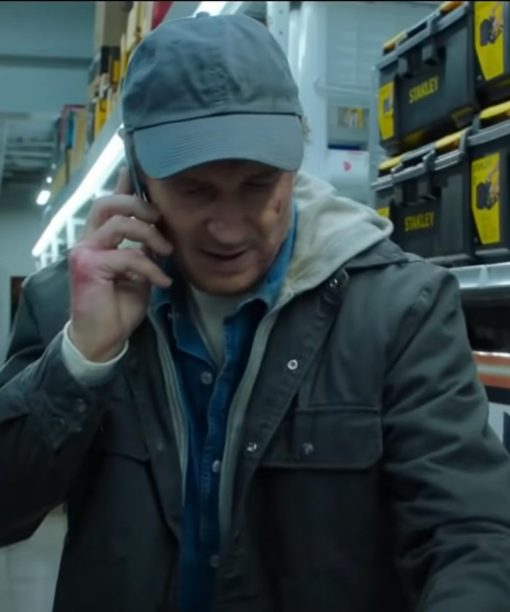 Liam Neeson Honest Thief Cotton Jacket